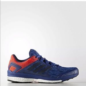 New ADIDAS® SUPERNOVA SEQUENCE 9 AQ3535 red blue